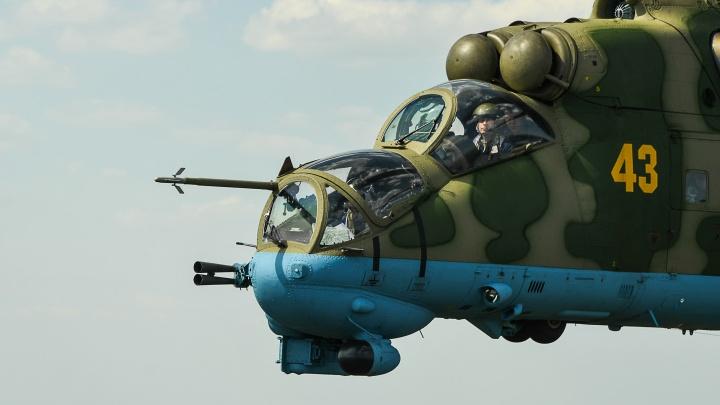 Парад авиации глазами военных летчиков: фоторепортаж из кабины вертолета