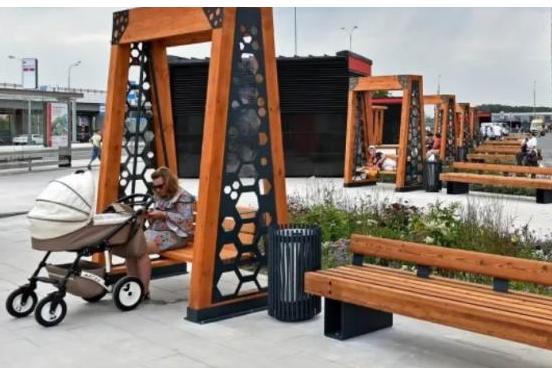 Предложение по изменению общественного пространства у станции метро «Проспект Просвещения»