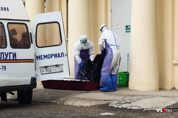 Росстат уверяет, что коронавирус в сентябре убил всего троих волгоградцев