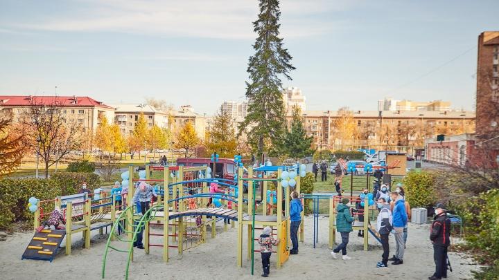 На пустом месте: как уралочки превратили старый сквер в новый парк бесплатных развлечений
