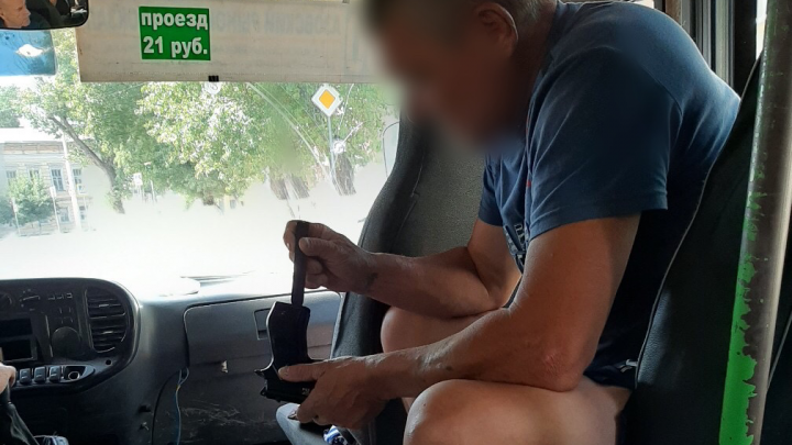 Мужчина с пистолетом угнал маршрутку в Новочеркасске