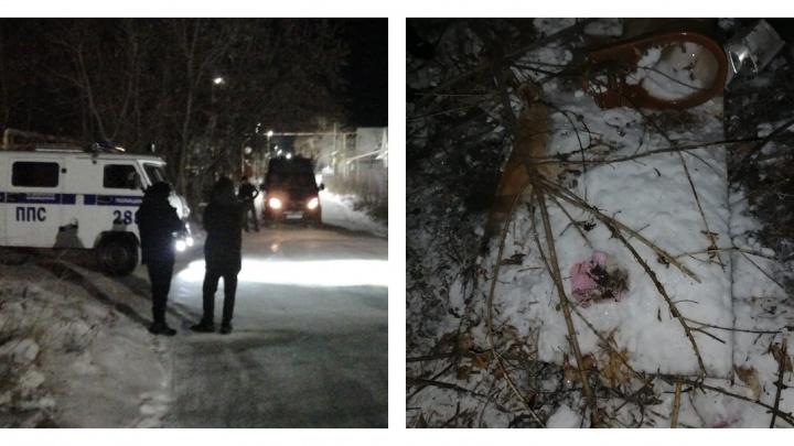 Тело нашли за газовой трубой: в Асбесте провели следственный эксперимент с подозреваемым в убийстве девочки