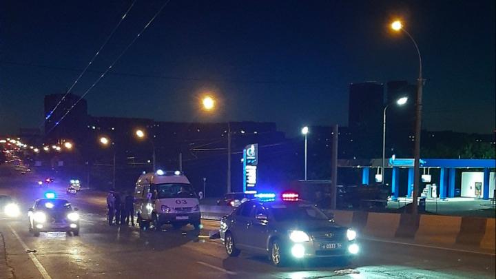 В Кировском районе водитель «Фольксвагена» насмерть сбил женщину
