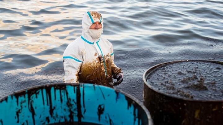 Пермяк борется с разливом нефти на острове Маврикий. Рассказ из эпицентра экологической катастрофы
