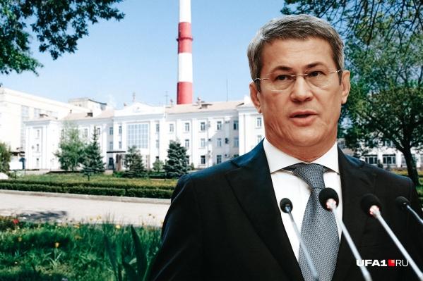 На днях Радий Хабиров рассказал о планах выкупить контрольный пакет акций БСК