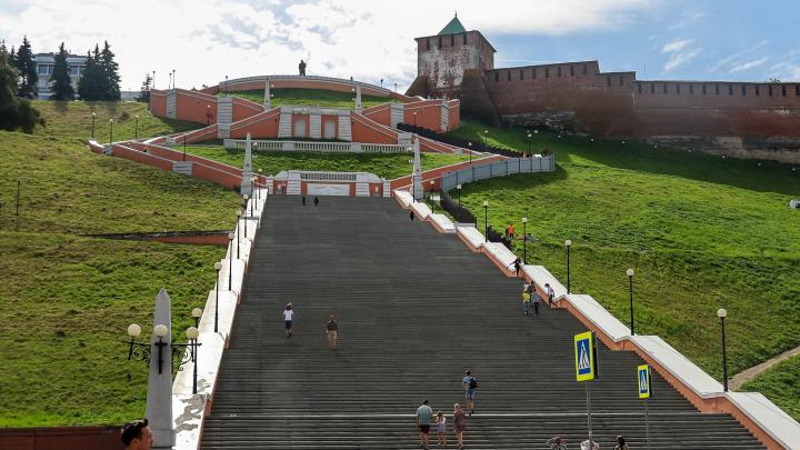 Губернатор рассказал, как изменится Чкаловская лестница после благоустройства