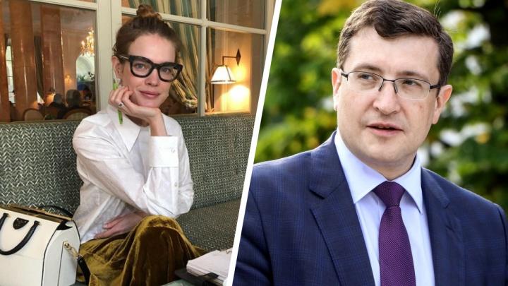 Глеб Никитин посоветовался с Натальей Водяновой по поводу празднования 800-летия Нижнего Новгорода