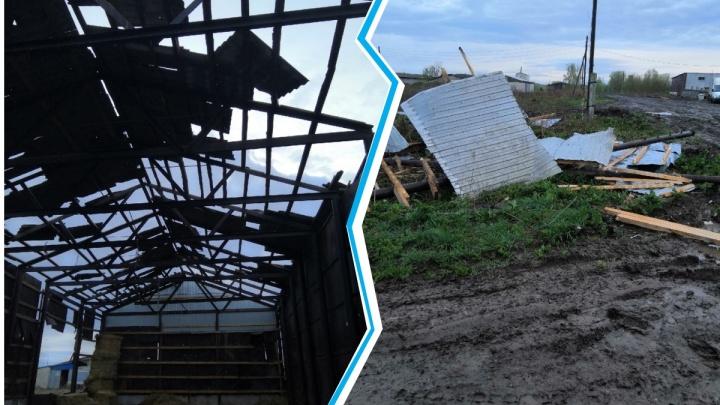 Смерч в Княгининском районе срывал крыши и разрушал постройки