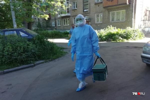 Каждый день в Ярославской области выявляют новых заболевших коронавирусом людей