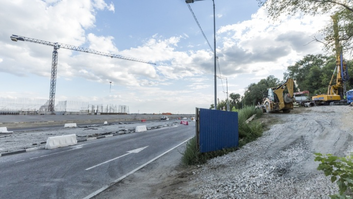 В Волгограде начинают строить пешеходный мост через Нулевую продольную