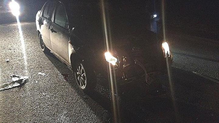 В Башкирии водитель «Лады-Гранты» сбил сразу четверых пешеходов, погибли молодожены