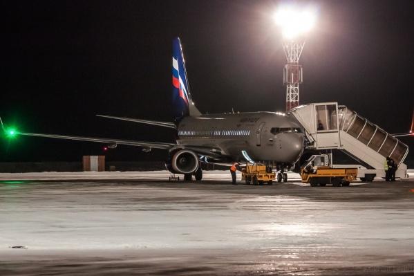 В справочной кемеровского аэропорта сообщили, что все самолеты отправились на запасные аэродромы