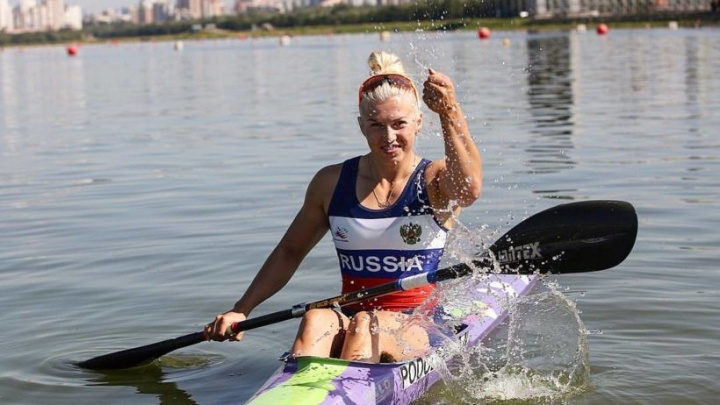 Байдарочница Наталья Подольская завоевала золото и бронзу на Кубке президента России
