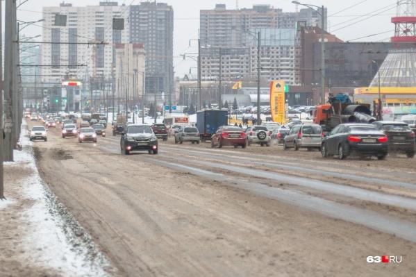 На Московском шоссе ограничат движение из-за строительства развязки
