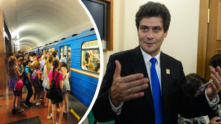 Вторая ветка метро подорожала. Мэр Екатеринбурга назвал новую стоимость строительства