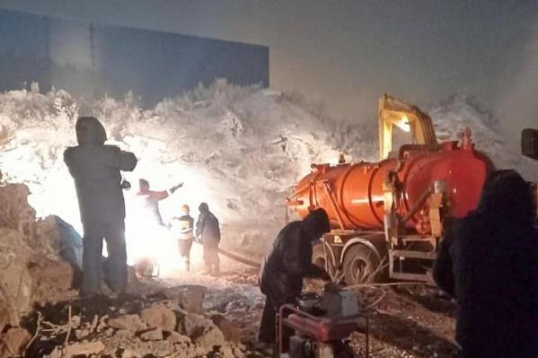 В результате аварии один из пяти городских водозаборов полностью вышел из строя