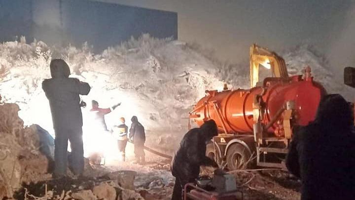 Воду в дома на Подзолкова и в Солонцы обещают дать до конца года