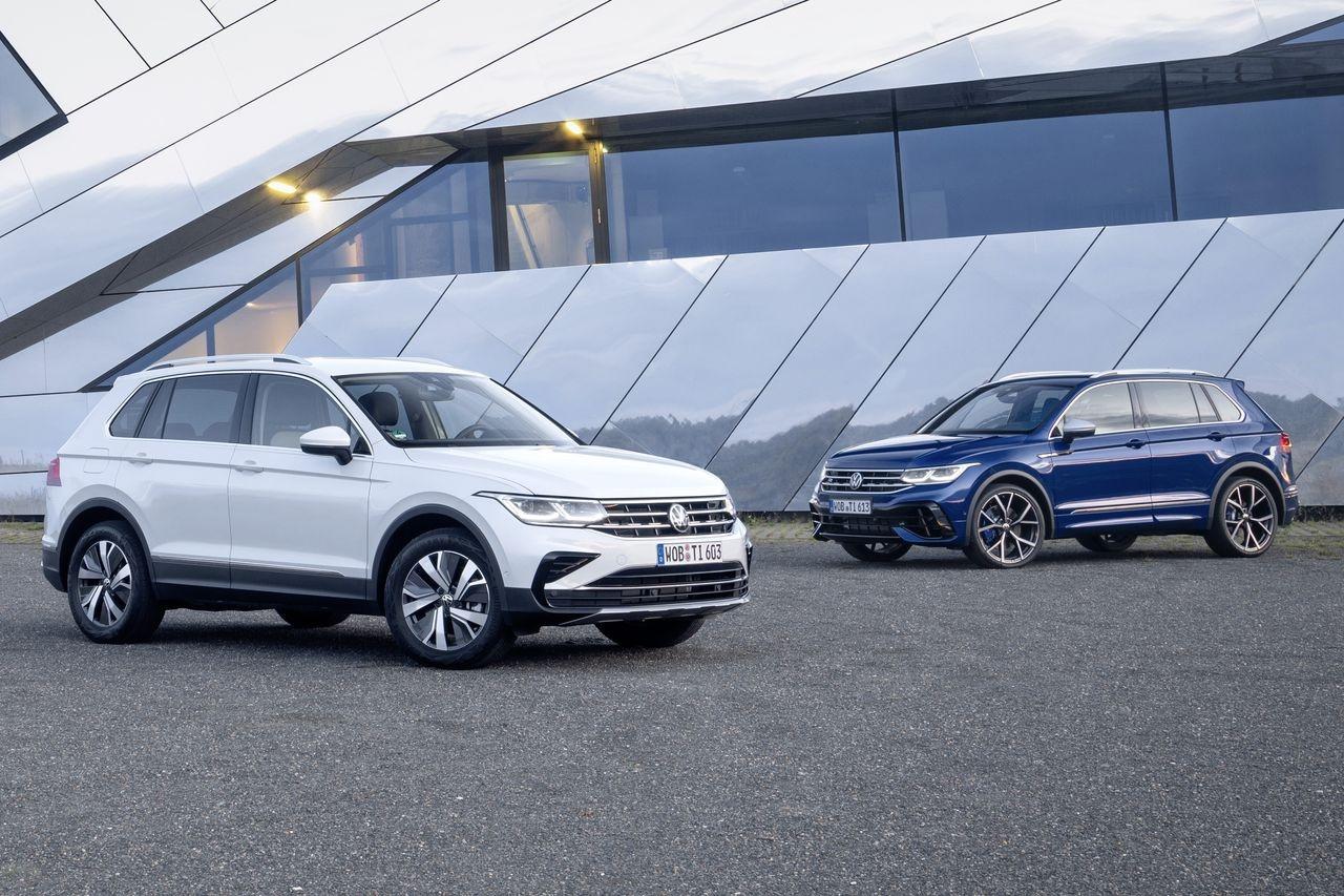 Обновленный Volkswagen Tiguan получил игривый разрез «глаз»