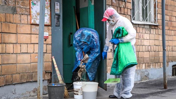 Власти Нижнего Новгорода возобновили дезинфекцию подъездов