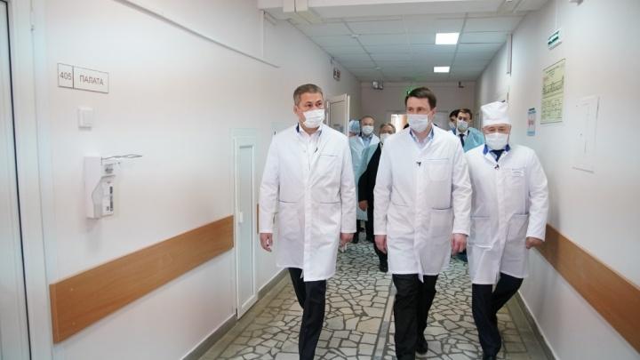 Радий Хабиров попросил медиков Башкирии «не побираться»