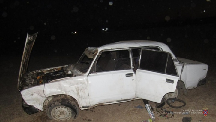 В Волгоградской области пьяная женщина без прав погубила свою пассажирку