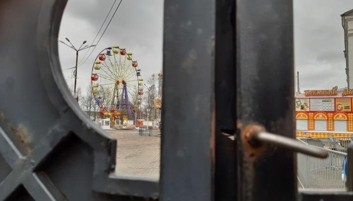 Парк аттракционов «Потешный двор» в Архангельске откроется не раньше 2 сентября