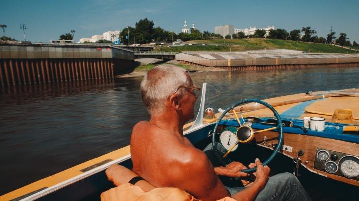 «Капитан лодки Владимир Владимирович». История тюменца, влюбленного в Туру