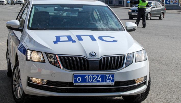 На трассе в Челябинской области сотрудник ДПС сбил велосипедиста