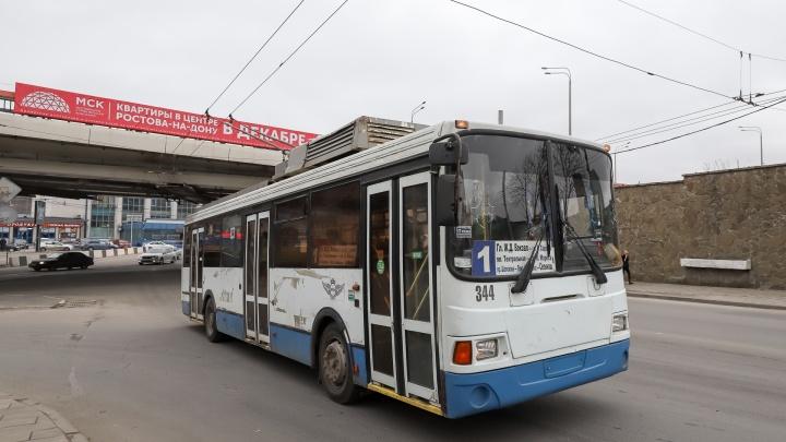 Ростов выкупил все арендуемые троллейбусы — 38 машин за 4 миллиона рублей
