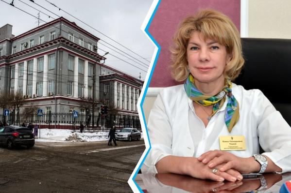 В НИИТО утверждают, что сами пригласили Елену Тоцкую на работу ещё в конце прошлого года