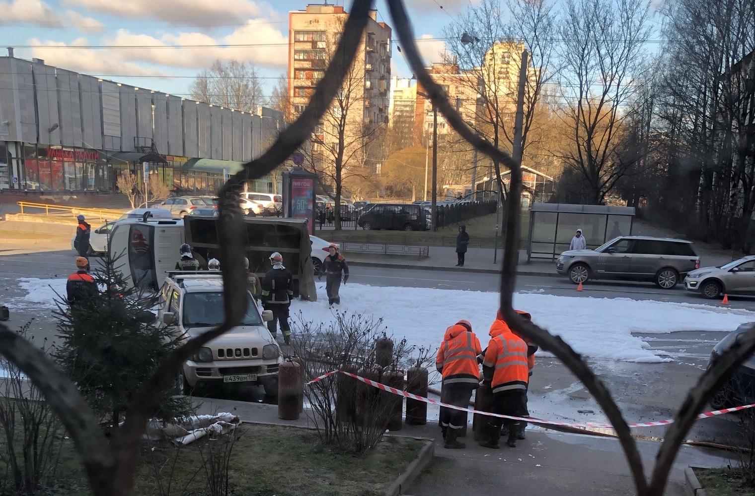 «ДТП и ЧП Санкт-Петербург»/vk.com