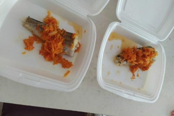 Автор фотографии поинтересовался мнением курганцев, можно ли наесться такой порцией