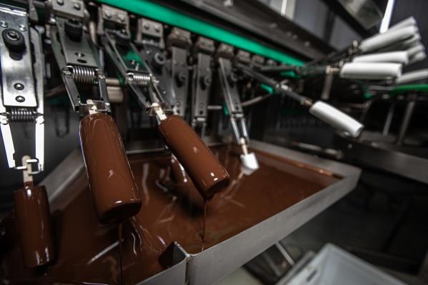 Мороженое «Купино» производят только из натуральных ингредиентов и проверяют на каждом этапе производства
