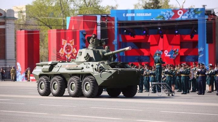 В Новосибирске отменили парад Победы 9 мая