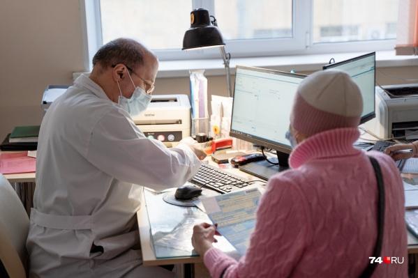 """В <nobr class=""""_"""">ГКБ № 8</nobr> больничные выдает терапевт на приеме, но пока доктор такой один"""