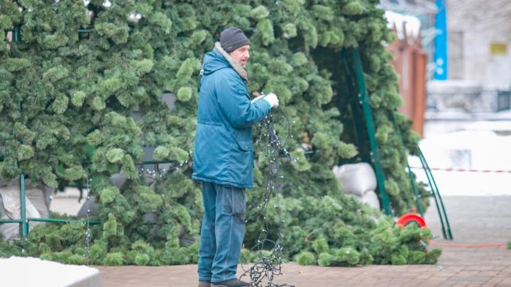 Ростов сэкономит на новогодних украшениях