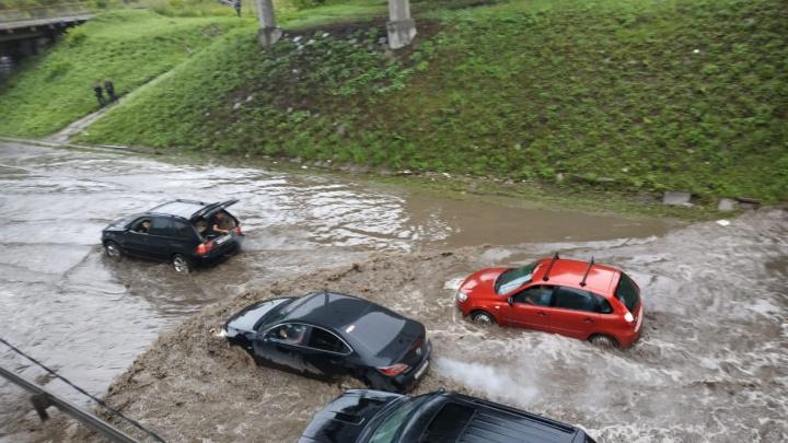 Прокуратура назвала виновного в потопе на Шефской и других улицах Екатеринбурга