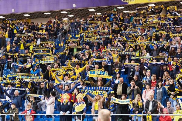 «Ростов-Арена» в прошлом году заняла второе место в России по посещаемости