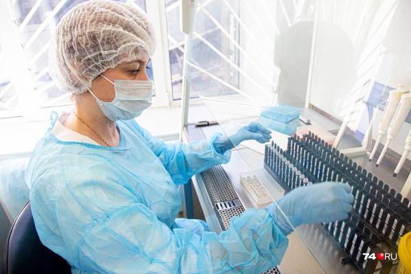 Всеми лабораториями региона суммарно проведено 153 018 исследований