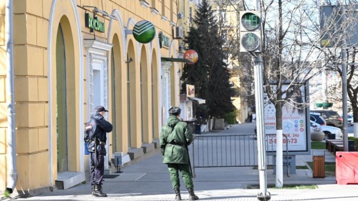 В Ростовской области полиция задержала мужчину за нарушение самоизоляции