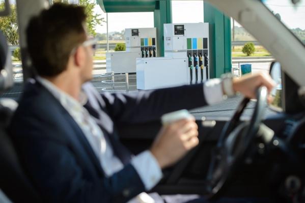 Заправить автомобиль теперь можно, не выходя из машины