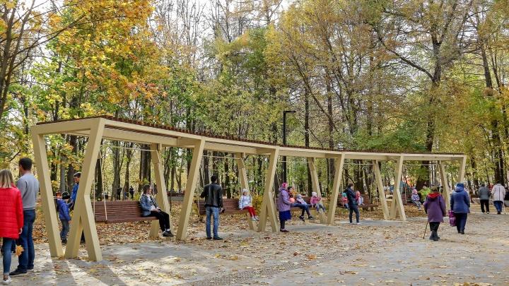 «Открытие — это когда готово всё»: мэрия отказалась принимать благоустройство парка Станкозавода