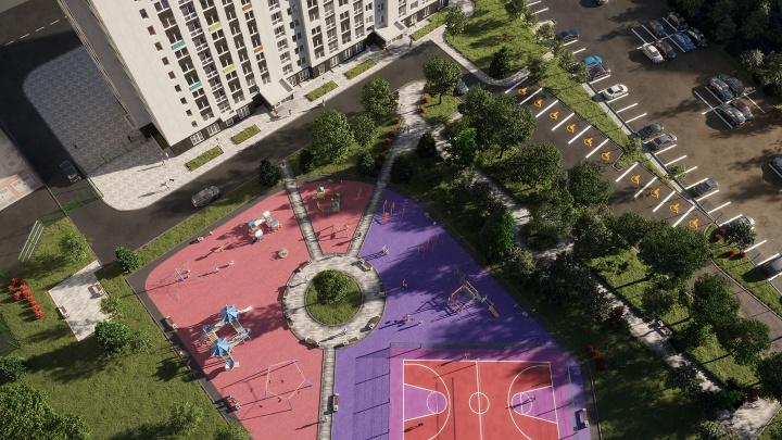 Первый взнос не нужен: в новостройке с двором-парком разбирают квартиры от 8 403 рублей в месяц