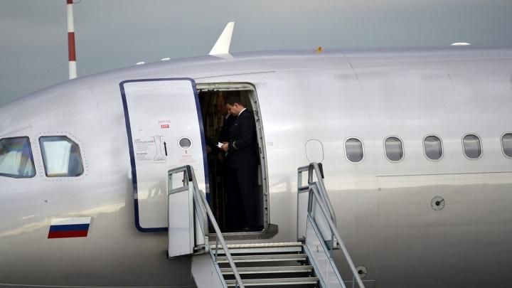 В Омске приземлился самолёт из Москвы, о минировании которого сообщил неизвестный