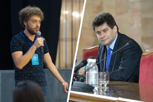 Варламов уже не первый раз критикует главу Екатеринбурга