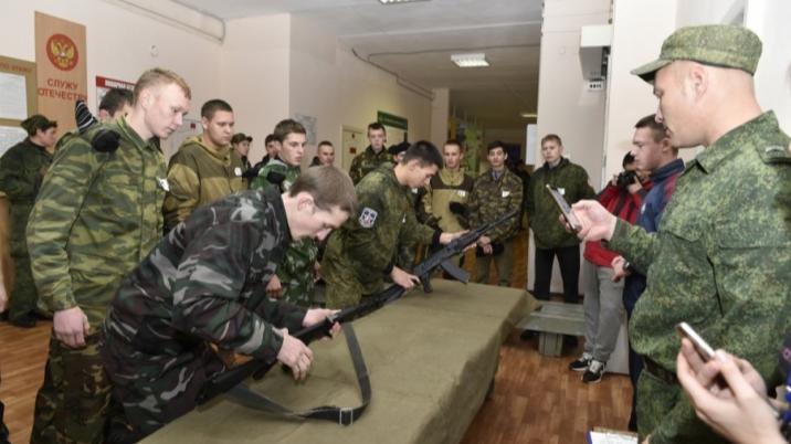 В Прикамье весенний призыв в армию перенесли на две недели