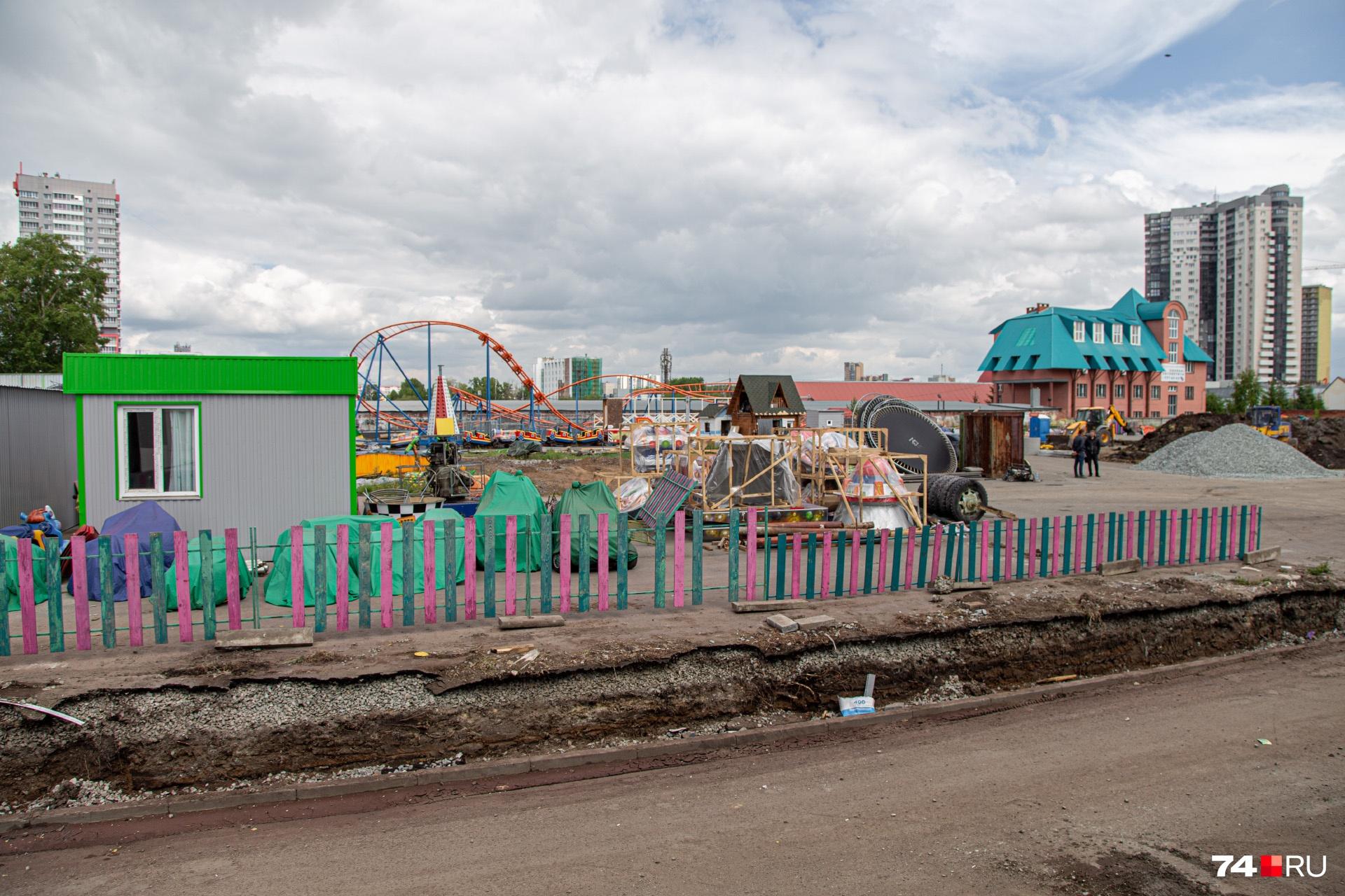Новый парк запустят не раньше июля