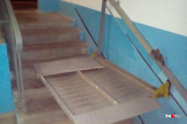 Инвалид-колясочник живет в Ленинском районе