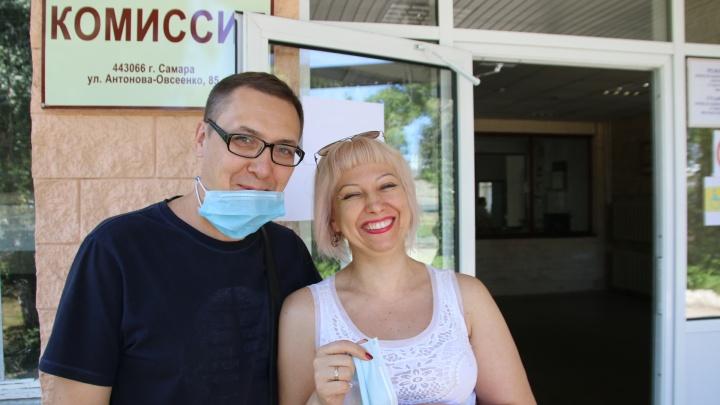 Как голосовали в Самаре: фоторепортаж с избирательных участков