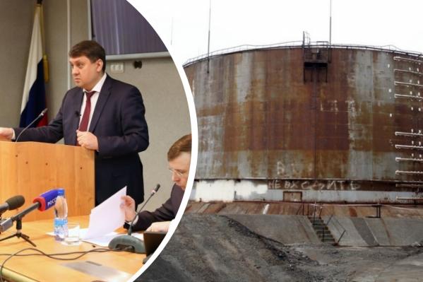 Ринат Ахметчин работал мэром с 2017 года, до этого трудился в структурах «Норникеля»